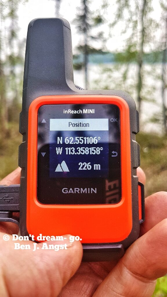inReach mini, by Garmin